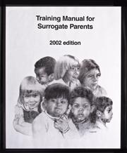 Training Manual for Surrogate Parents