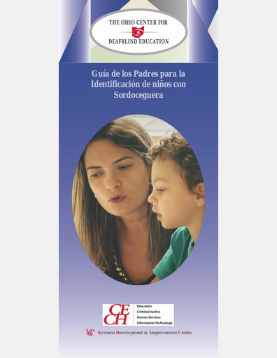 Parent & Families Guide for the Identification of Children with Deafblindness  - Spanish